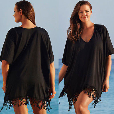strand jurk voor over bikini