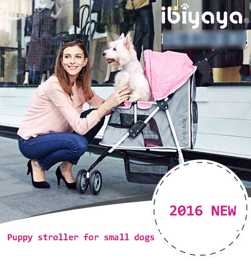Dog pushchair for small dogs cats can load 25kg puppy strollers china