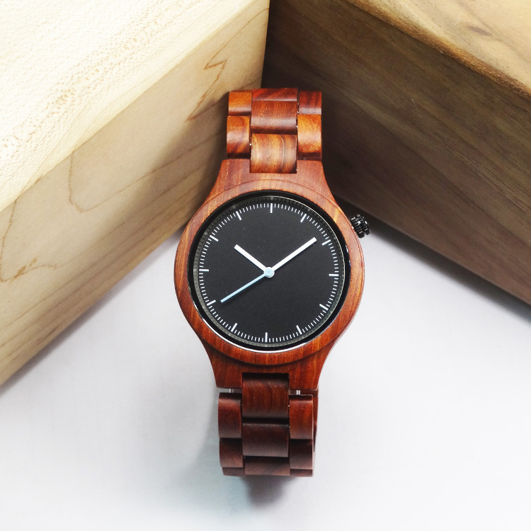 Luxury Brand Natural Wooden Watch Men Women Maple Sandal Bamboo Wood Wristwatch Unisex Handmade Casual Quartz Watches Genuine