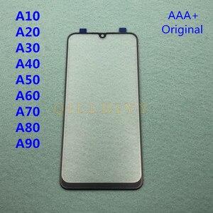 Image 2 - Оригинальный Внешний стеклянный объектив для Samsung Galaxy A50, A30, A10, A20, A40, A60, A70, A80, A90, ЖК дисплей, сенсорный экран, клей для фронтальной панели + для клея в виде B 7000