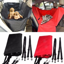 LS4G Pet Dog Car Seat Cover for Rear Bench Seat Waterproof Hammock Style Outdoor Car Seat Cover for Dogs