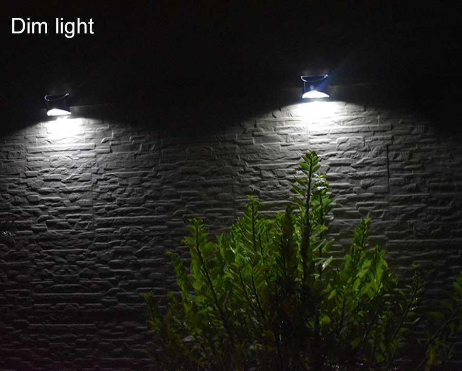 Waterproof Solar Outdoor Light with 4 LED and Motion Sensor Powered by Sunlight for Garden and Garage 14