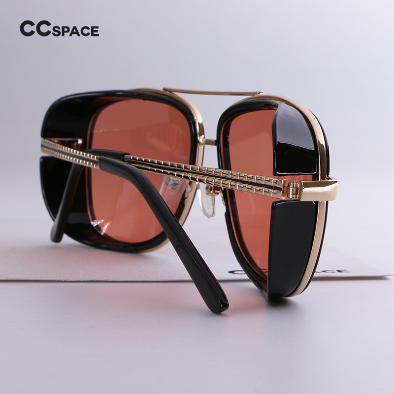 Male Steampunk Sunglasses Tony Stark Iron Man Matsuda Sunglasses Retro  Vintage Eyewear Steampunk Sun Glasses UV400 Oculos De Sol-in Sunglasses  from Apparel ... ee414a66ef