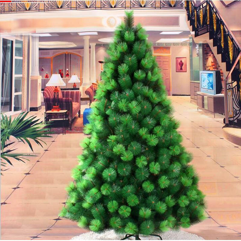 1.8 m/180 cm cifrado lujo Navidad Pino aguja árbol DIY PVC ...