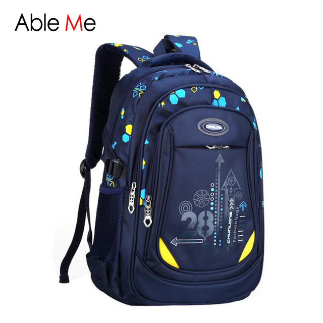 Large Capacity School Bags Kids Printing Schoolbags Primary School Students Backpacks High Quality Nylon Children's Backpack