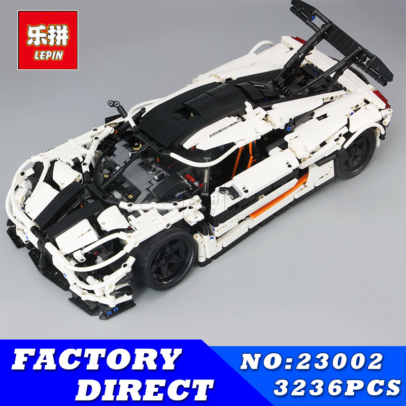 LEPIN 23002 3136Pcs Technic Series The MOC 4789 Changing Racing Car Set Children Educational Building Blocks Bricks Toys Model цена