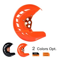 Front Brake Disc Rotor Guard Protector for KTM EXC SX SXF XC XCF EXCF 125 150 250 300 350 400 450 500 505 525 530 2016-2018 2019 nicecnc cnc front brake clutch rear brake reservoir cover cap for ktm 125 150 250 300 350 450 500 530 sx xc exc xcw xcf sxf excf
