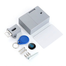 Durable Without Perforate Hole RFID Drawer Lock for Cabinet Safety DIY Digital Door Control System