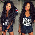Brazilian Deep Wave Virgin Hair Weave 4 Bundles 100% 8A Brazilian Virgin Hair Wet And Wavy Deep Wave Virgin Human Hair