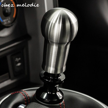 Lengthening model Brushed aluminium alloy Gearshift knob fitting Ford Fiesta Focus RS ST model, 89mm height