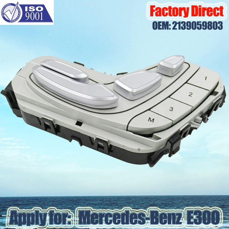 Factory Direct Auto Seat Control Switch Apply For Mercedes-Benz W213 Seat Adjuster Switch Right  Side A2139059803