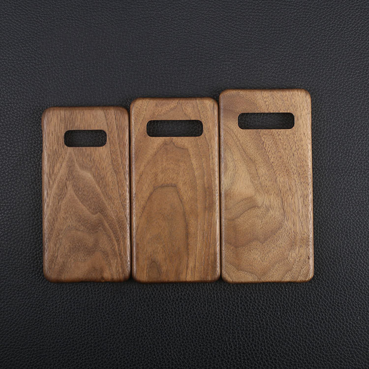 Image 4 - Natural Wooden phone case FOR Samsung S10 Plus S10 S10lite case 