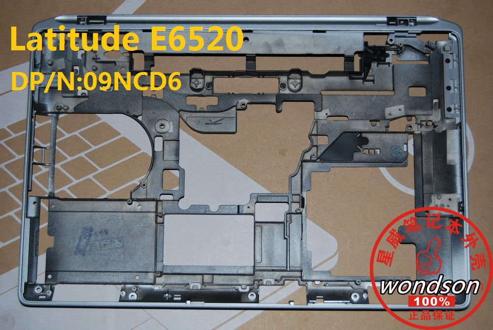 Free Shipping For Dell Latitude E6520  Bottom Base Cover CN-09NCD6 9NCD6 W/ 1 Year Warranty