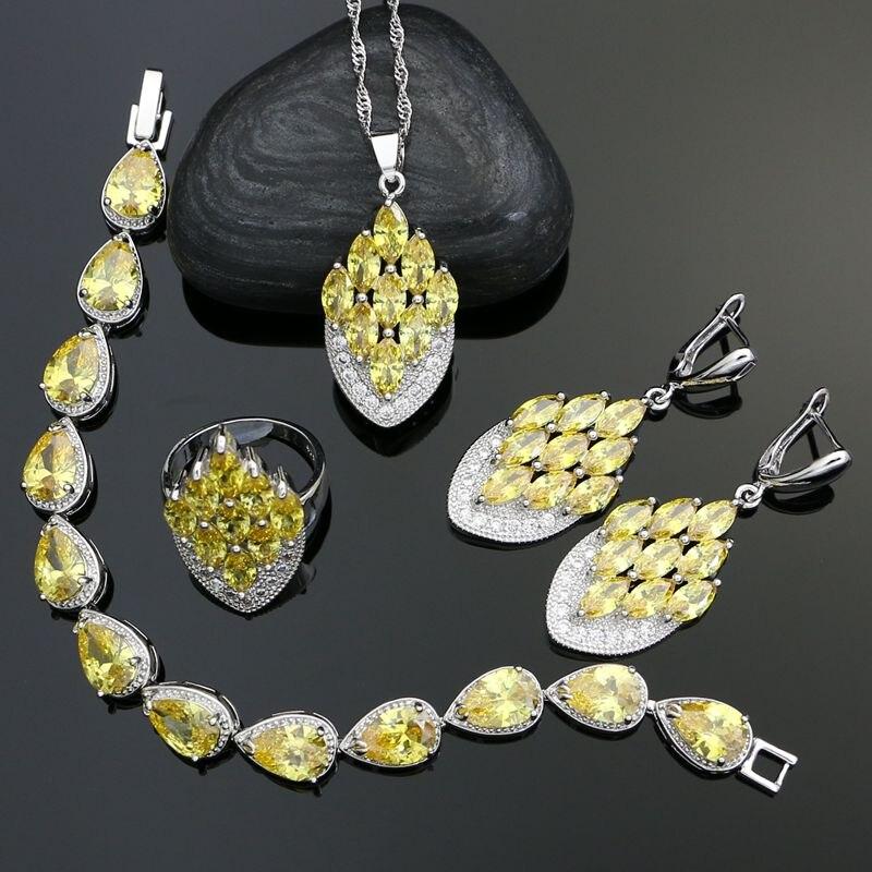 925 Silver Wedding Jewelry...