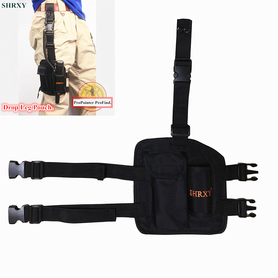 SHRXY Metal Detector Drop Leg Pouch Bag and Holster for Xp Pin Pointers Pointer ProFind Multifunction Leg Package сумка для пинпоинтера