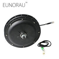 Free Shipping High Speed 48v1000w Brushless Non Gear Hub Motor For Front Wheel