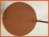rotondo 450 mm 24v 400 w silicone riscaldatore letto per kossel pro stampante 3d installare 3m adhesive silicone heater pad/mat