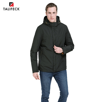 цена на 2020 New Spring Padded Jacket Men Casual Cotton Padded Coat Windbreaker Autumn Fashion Jacket Parka Homme Outwear Men Clothes