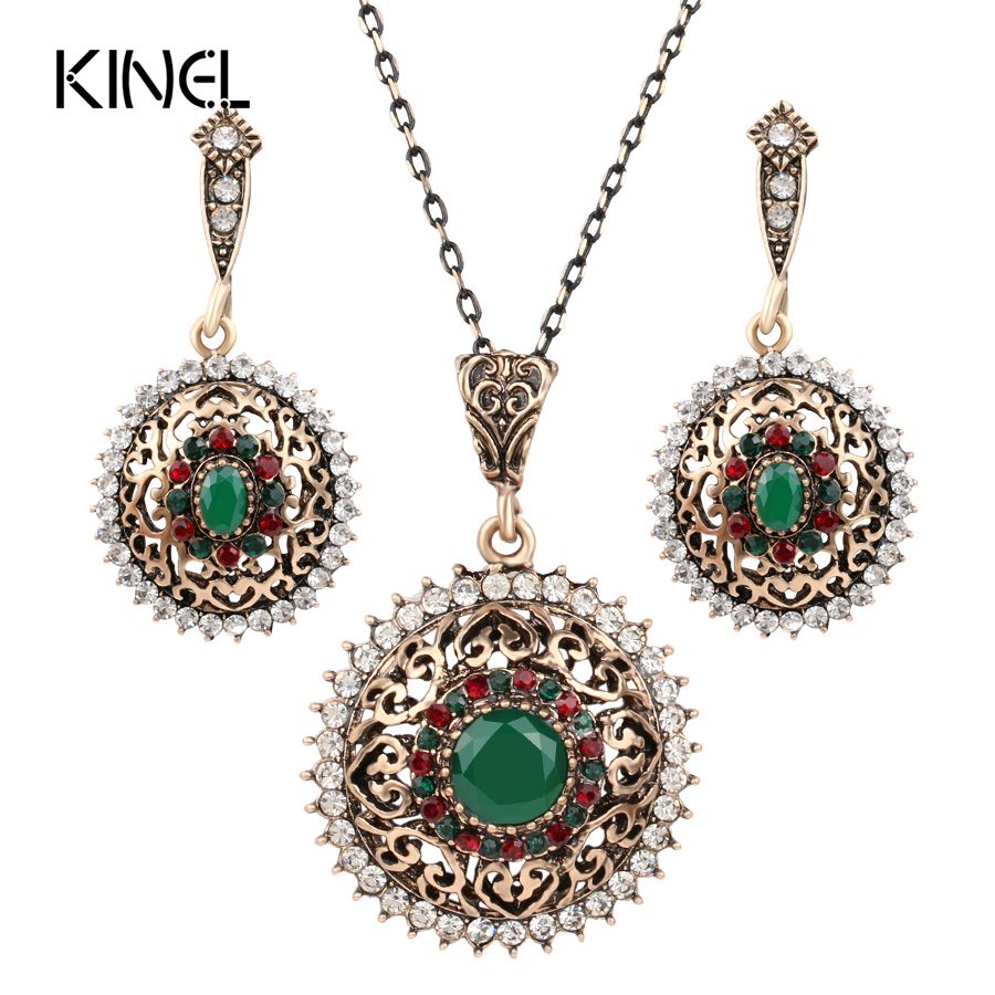 2Pcs Turkish Jewelry...