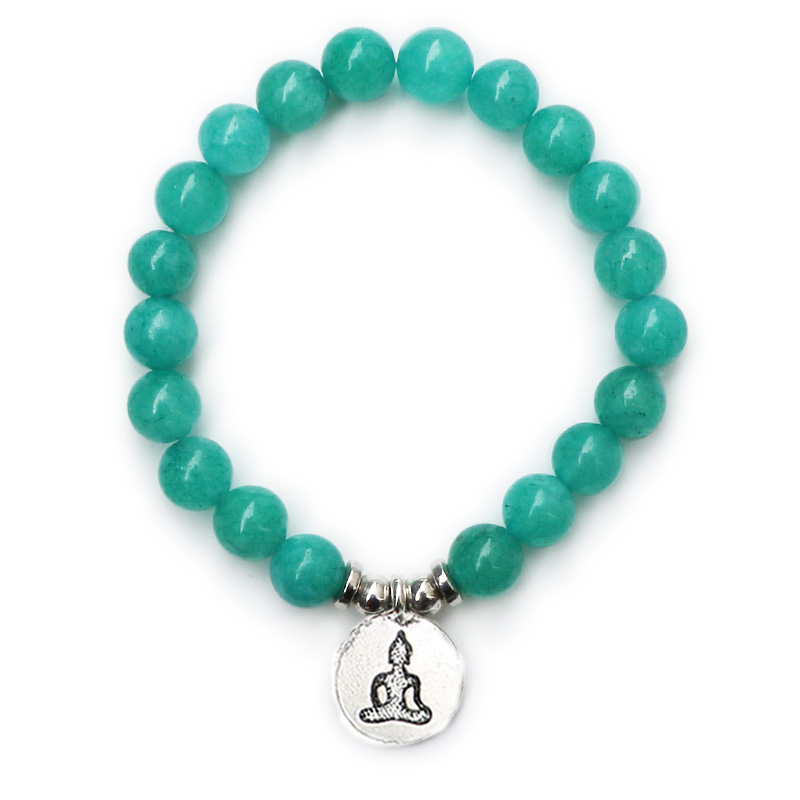 Hot Sale Design Vintage Design Men`s Natural Stone Bracelet Tree of Life Charm Balance Jewelry Trendy Gift for Him B66