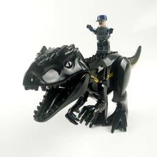 Compatible Lego Jurassic World Park Tyrannosaurus Indominus Rex Indoraptor Building Blocks Dinosaur Figures Bricks