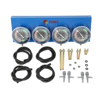 Universal 4 Carb Carburetor Synchronizer Set kit For Motorcycle Brand New Motorcycle Accessories