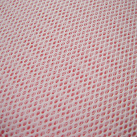 2019 Black Air Spacer Sandwich Mesh Fabric Polyester Striped White Net Cloth For Stereo Sound Box Footwear Multifunction Fabric