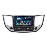 7 Android Car Multimedia Stereo DVD GPS Navigation Radio Audio Sat Nav Head Unit for Hyundai IX35 Tucson 2014 2015 2016 2017
