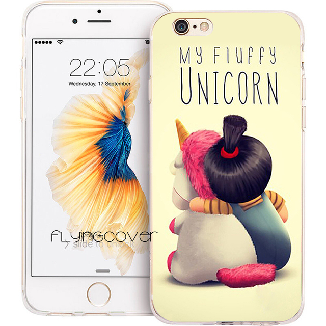 coque iphone 8 licorne silicone
