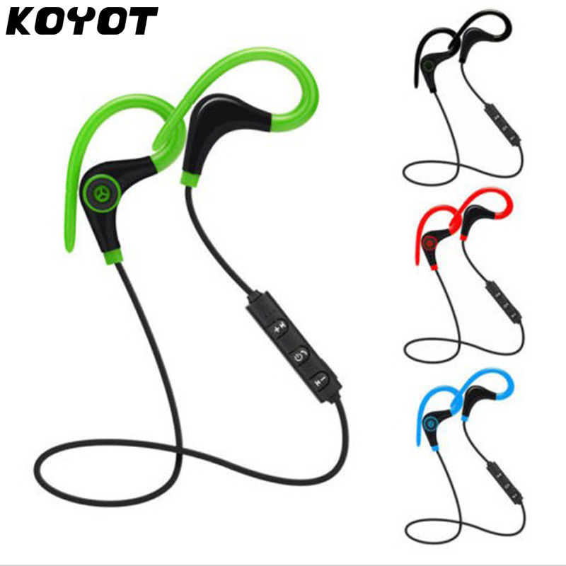 KOYOT Universal Bluetooth 4.1 Wireless Stereo Earphone Earbuds Sport Headset CVC 6.0 Headphone For iphone 7 6 Plus sport mini stereo bluetooth earphone v4 0 wireless crack headphone earbuds hand free headset universal for samsung iphone7 sony