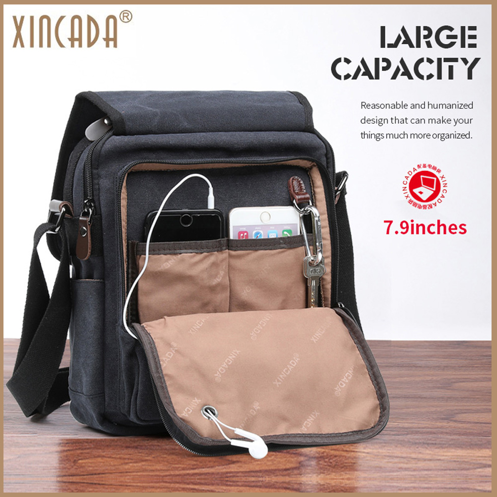 04cca2a305 best top black canvas sling bag brands and get free shipping - 9nn1491l