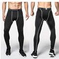 2017 Medias de Compresión Hombres Pantalones Casuales Pantalones de Camuflaje Culturismo Crossfit Corredores Mans de Alta Elasticidad Polainas Flacas