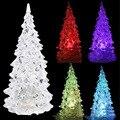 Горячая Популярная Рождественская Елка Форма Сна Ночь Красочные Мигающий Свет-up Игрушки для X-mas Партии