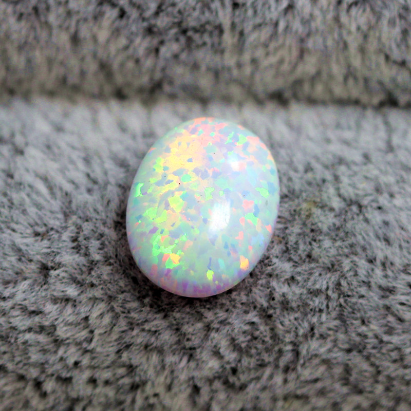 Aliexpress Com Buy White Opal Loose Created Gemstone