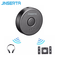 JINSERTA Multi-point Bluetooth 4.0 Stereo Audio Adapter Dongle Transmitter for TV Speaker MP3 Headphone Wireless Receiver