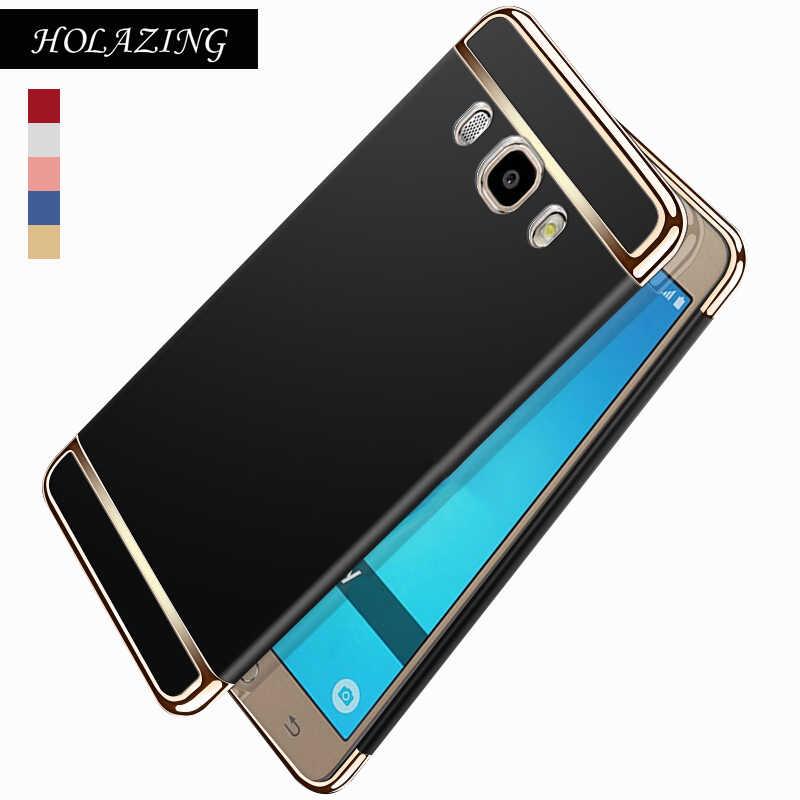 detailed look f5c45 58613 Full Body Protective Hard PC Bumper Cover for Samsung Galaxy J4 J6 Plus J3  J5 J7 2017 Anti Finger Scub Case