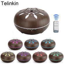 Фотография 550ml Remote Control 7 color LED lights Air Aroma Electric Humidifier for home Ultrasonic Essential oil diffuser mist maker