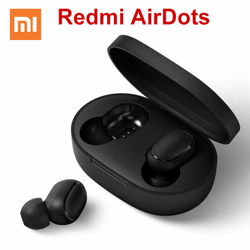 Gearbest Original Xiaomi Redmi AirDots TWS Bluetooth Wireless Earphones Headset CN Or Global Version - CN Version China