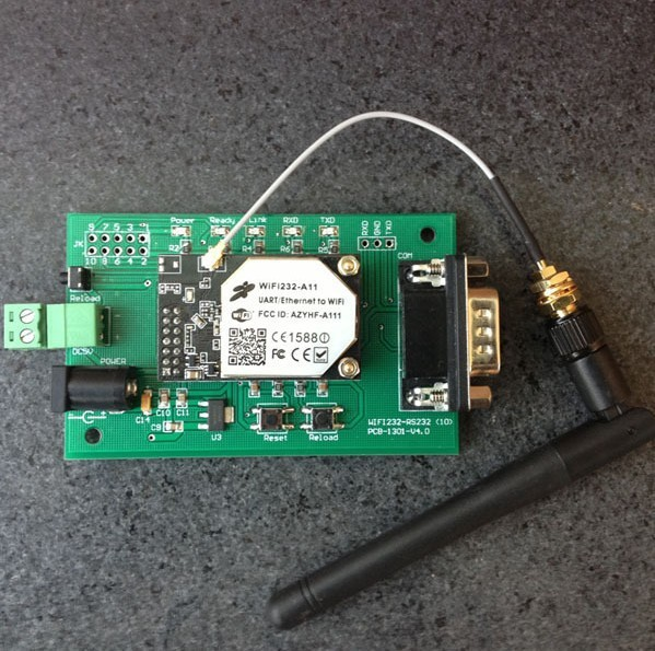цены hot selling Serial RS232 to 802.11 b/g/n Converter Embedded WiFi Module