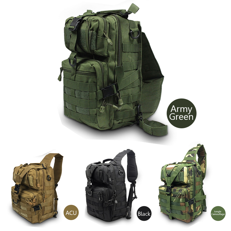 Tactical Assault Pack Military Army 20L Waterproof Rucksack Backpack Outdoor Travelling Hiking Bag