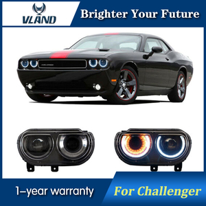 Car Front Light For Dodge Chal