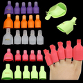 New Hot Sale 5 Pcs Toenail Soak Off Clip Caps Nail Art Tips Polish UV Gel Clamp Remover   9IL