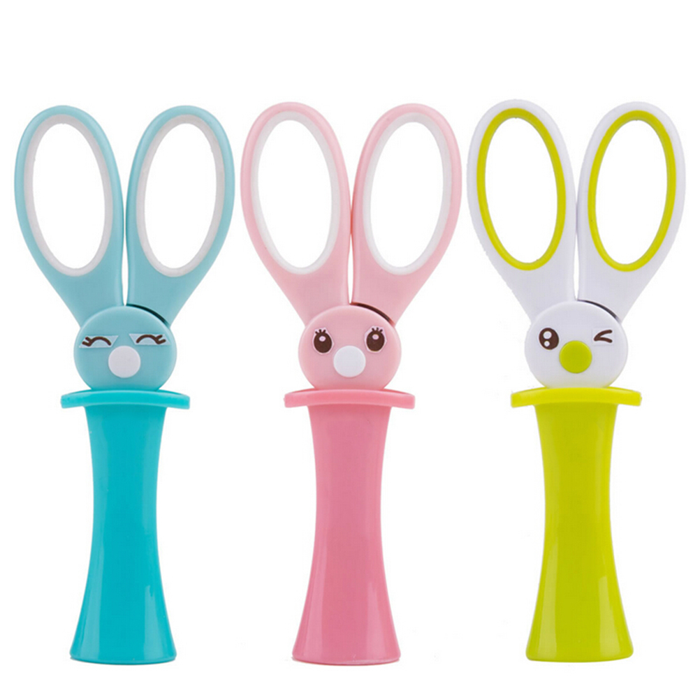Shop For Cheap New Cute Magic Rabbit Scissors Child Cartoon Style Scissors Shezthed Handmade Scissors Cutting Supplies