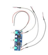 NE5532 2.1 ערוץ סאב נמוך לעבור סינון מראש AMP מגבר לוח 12 V ~ 24 V DC