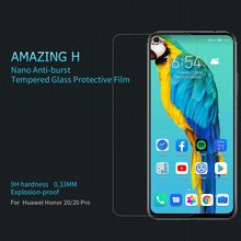 Huawei Honor 20 Screen Protector NILLKIN Amazing H Anti-Explosion Glass Screen Protector Huawei Honor 20 Pro Protective Film nillkin защитное стекло anti explosion glass screen h закругл края для nexus 6