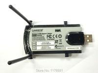 Nuevo Wireless WiFi USB adaptador wifi Linksys WUSB300N IEEE 802.11n LAN tarjeta de red dongle wifi n USB 2.0 adaptador WLAN