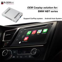 Aftermarket OEM Apple Carplay Android Auto Upgrade for BMW 1/2/3/4/5/7 Series X1 X3 X5 X6 MINI with NBT system carplay smart box
