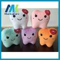 Tipo de diente Dental Diente Regalo Mimoso Suave peluche de juguete Creativo juguete Especial de Lana Regalo regalo para el dentista Dental de laboratorio Médico