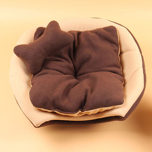 Foldable Soft Warm Winter Cat Dog Bed House Animal Puppy Cave Sleeping Mat Pad Nest Kennel Pet Supplies Hot Sale 4