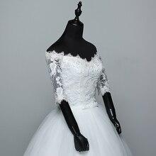 Wedding Dress 2019 New Arrival Flowers Butterfly Gelinlik Embroidery Lace Boat Neck Princess Wedding Gowns Vestidos De Novia